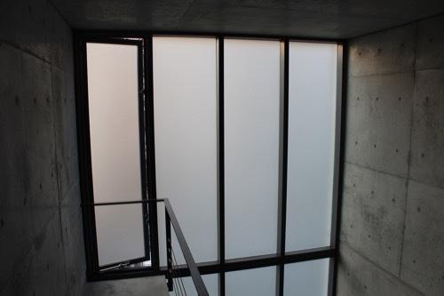 0172:日本橋の家 吹き抜けスペース④