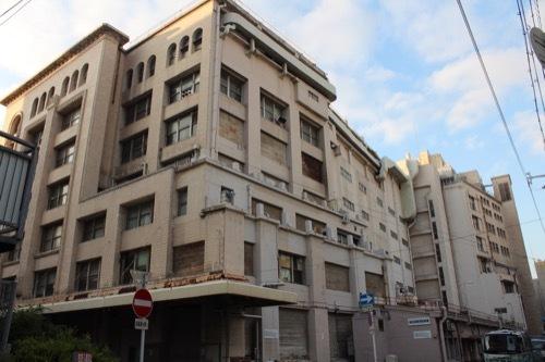 0173:高島屋東別館 建物裏側①
