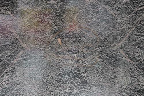 0180:フジカワ画廊 壁面の大理石ファサード