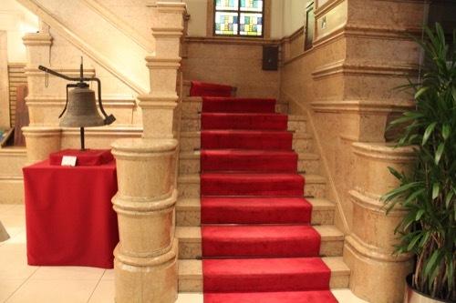0181:生駒ビルヂング 1階の階段①