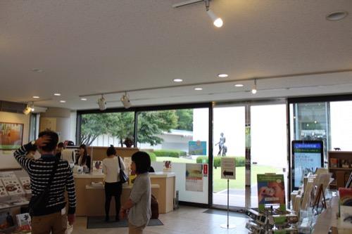 0146:ひろしま美術館 受付カウンター