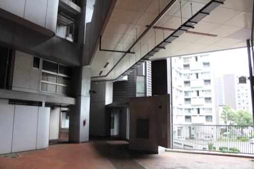 0148:市営基町高層アパート 廊下スペース①
