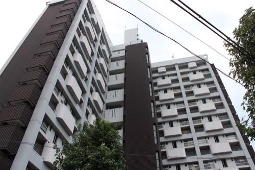 0148:市営基町高層アパート コア拡大図