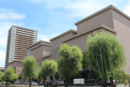 0150:兵庫県立芸術文化センター 西側外観②