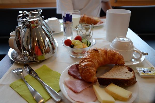 ホテルカバナの朝食