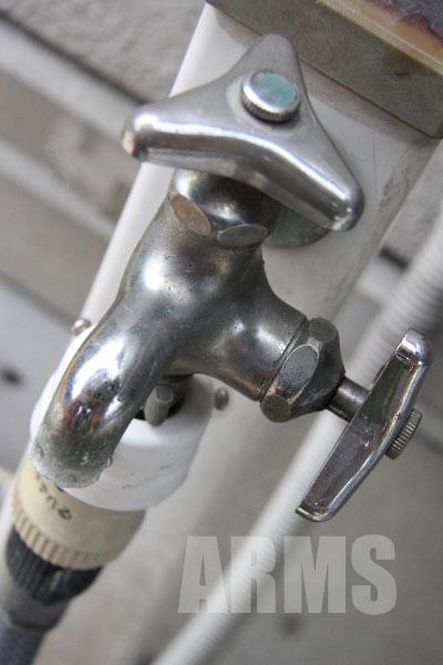 蛇口の水漏れ パッキン ケレップ交換