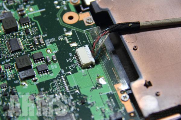 ダイナブック CPU交換 AX53D