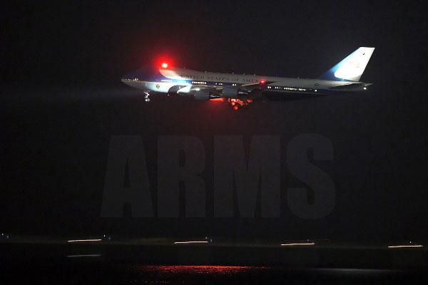 エアフォースワン セントレア VC-25 政府専用機  オバマ大統領