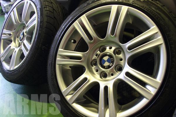 BMW 純正ホイール 傷修理