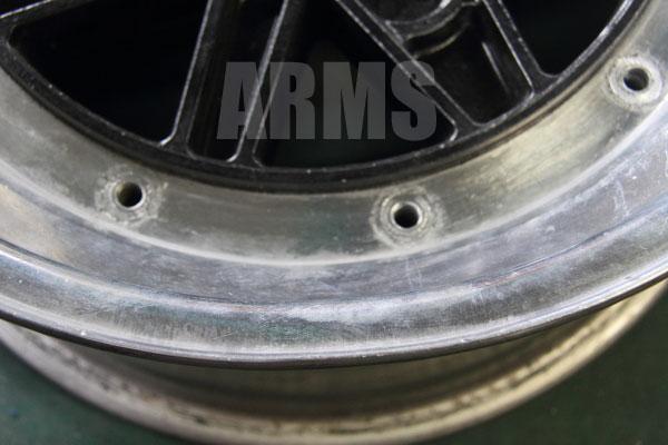 SSR MK3 リムの曲がり修理