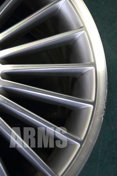 AMG アルミホイール スタイリング5 リム傷リペア