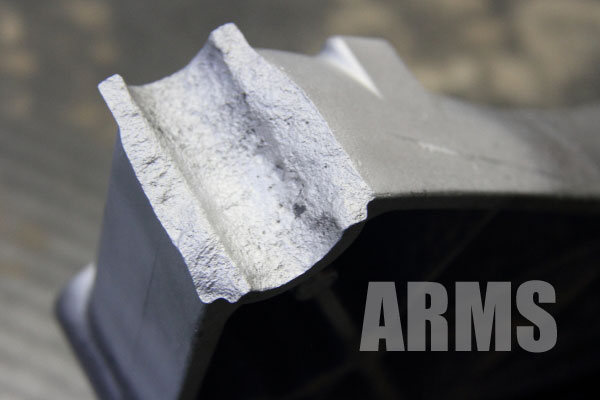 ミッションマウント メンバー 取り付け部 アルミ溶接修理