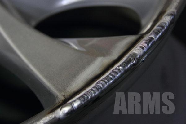 ヴェルファイア/アルファード 20系純正アルミホイール 傷の修理