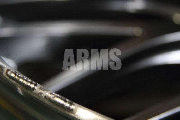 ウェッズ マーベリック リム傷の修理 アルミ溶接