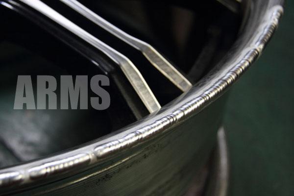 シュヴァート SC1 アウターリムの削れ修理