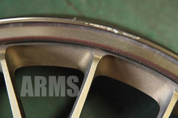 レイズ SE37 ブロンズ ブロンズリムの修理 ホイールリペア岐阜