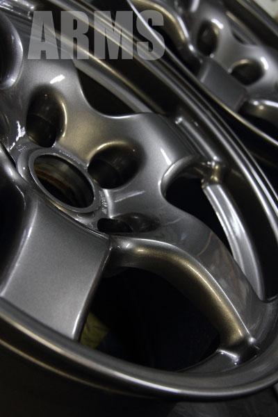 アルミホイール塗装 ニッサン GTR 塗装劣化