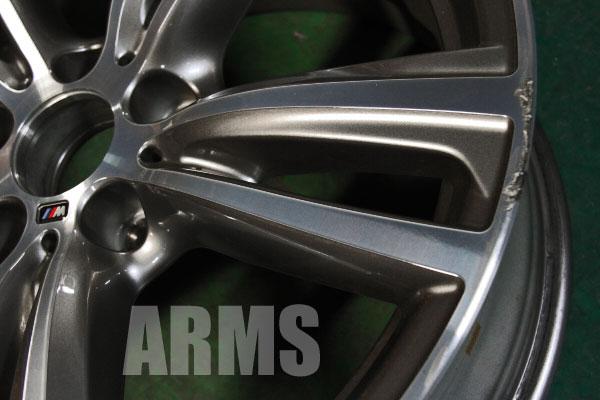 BMW Mスポーツ 4シリーズ オプションアルミホイール 傷修理 ダイヤモンドカット