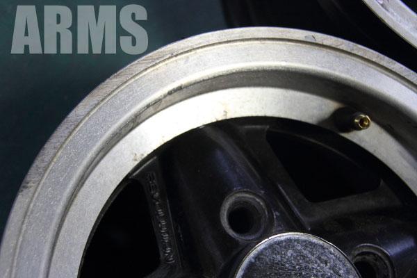 ミニ ローバーミニ レボリューション アルミホイール 10インチ クリアー劣化 リフレッシュ修理