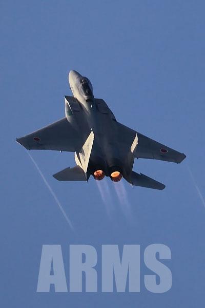 岐阜基地 航空祭 予行 2016 F15 イーグル 機動飛行  High rate climb