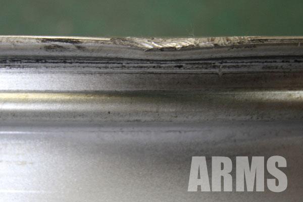 BBS RX204 リムの変形 修理 溶接