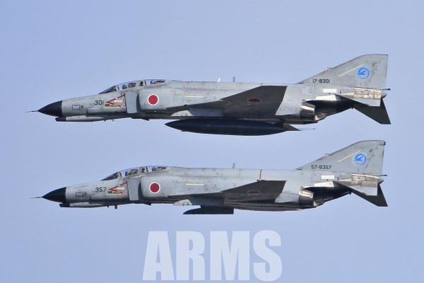 F-4EJ改とF-4EJ ファントム 岐阜基地航空祭 2016