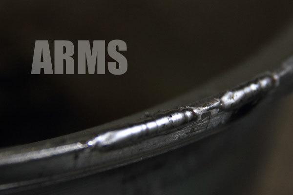フォーカスレーシング リムの曲がり 傷のリペア