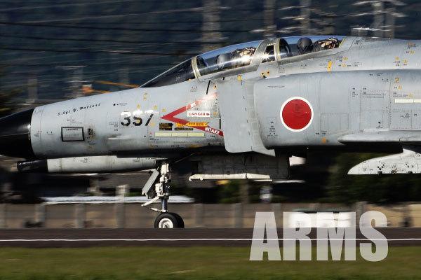 岐阜基地 航空祭 F4 ファントム 357号機 タキシング中のF4
