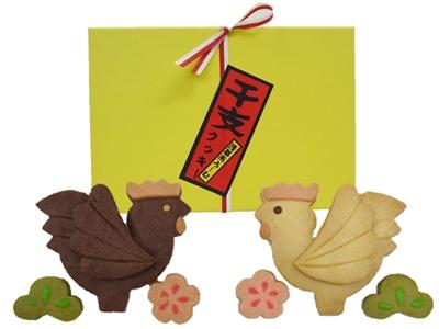 酉年の干支クッキー