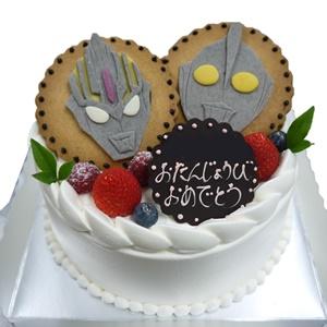 戦隊物キャラデコケーキ