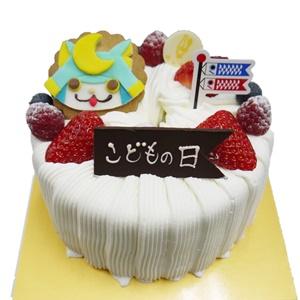 初節句お祝シフォンケーキ4名様用 2100円