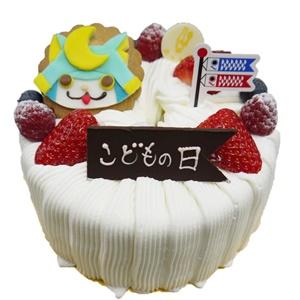こどもの日シフォンケーキ4名様用2100円