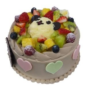 パンダのチョコケーキ