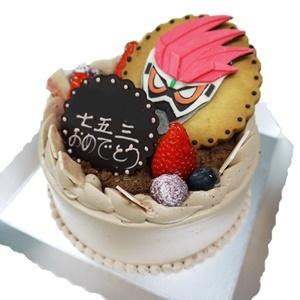七五三のキャラケーキ