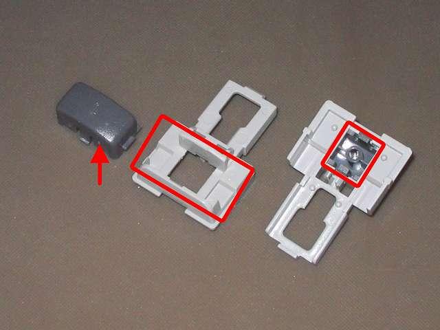 PS コントローラー(デュアルショック) スプレーを使ってメンテナンス、L1・R1 ボタンと L1・R1 ボタンガイドのすれ合う部分にドライファストルブを噴射