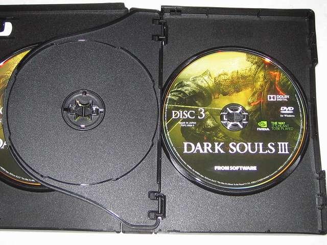 PC 版 DARK SOULS III 特典付き(特製マップ & オリジナルサウンドトラック) インストールディスク DISC3