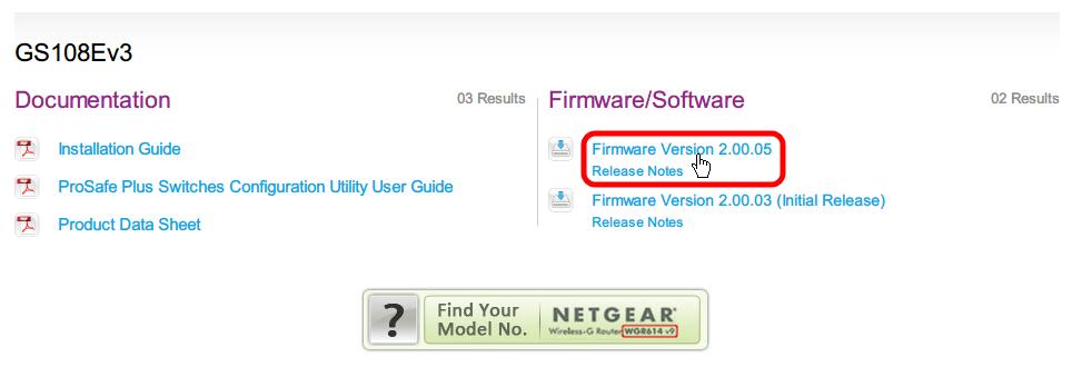 NETGEAR ネットギア アンマネージプラススイッチ ギガ 8ポート スイッチングハブ 管理機能付 無償永久保証 GS108E-300JPS ファームウェア Firmware Version 2.00.05 ダウンロード