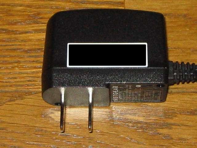 NETGEAR ネットギア アンマネージプラススイッチ ギガ 8ポート スイッチングハブ 管理機能付 無償永久保証 GS108E-300JPS 電源アダプター側面