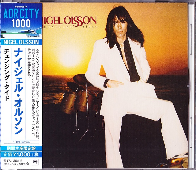 Nigel Olsson / Changing Tides (表)