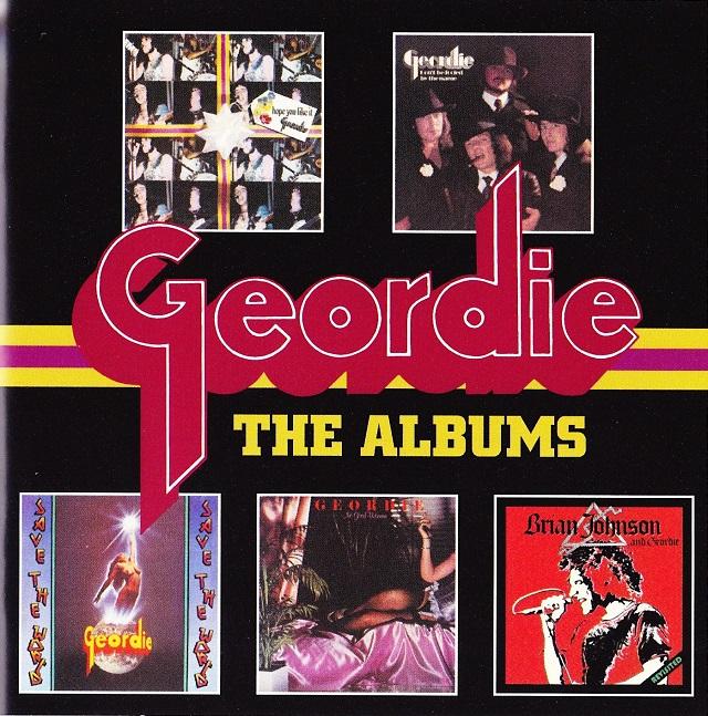 Geordie / The Albums ブックレット(表)