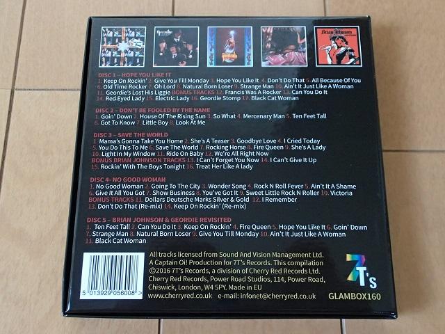 Geordie / The Albums 外箱画像2