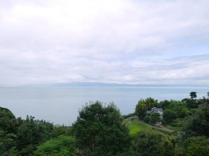 大村湾パーキングエリアから(1)