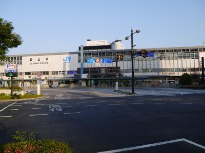 JR岡山駅東口