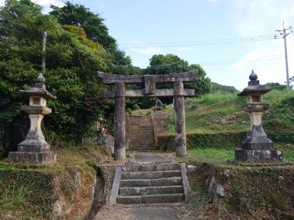 釈迦堂八幡神社(1)