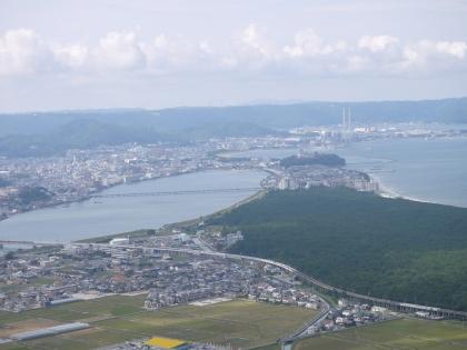鏡山展望台から(1)