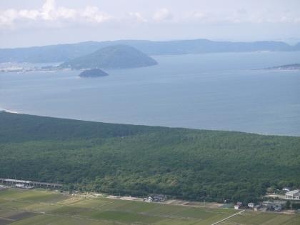 鏡山展望台から(2)