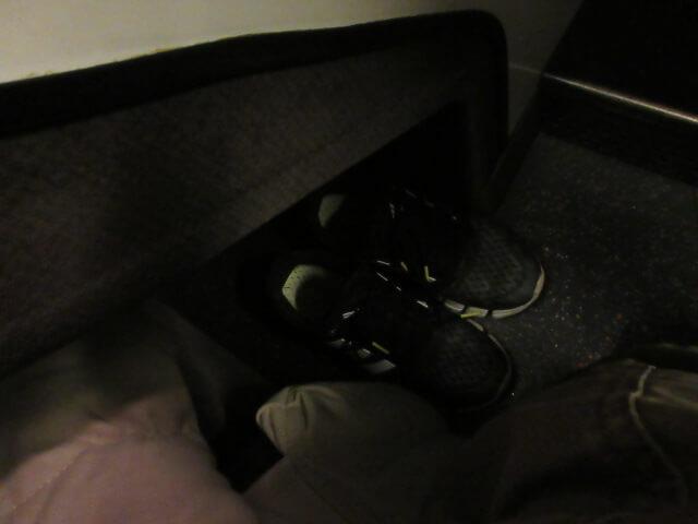 コクーンの靴置き場