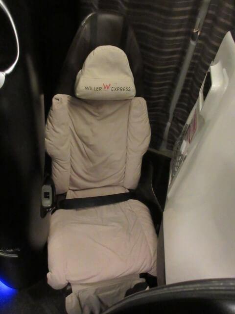 コクーンの座席