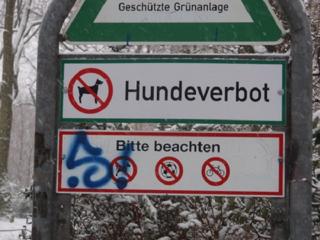 ベルリン 犬禁止