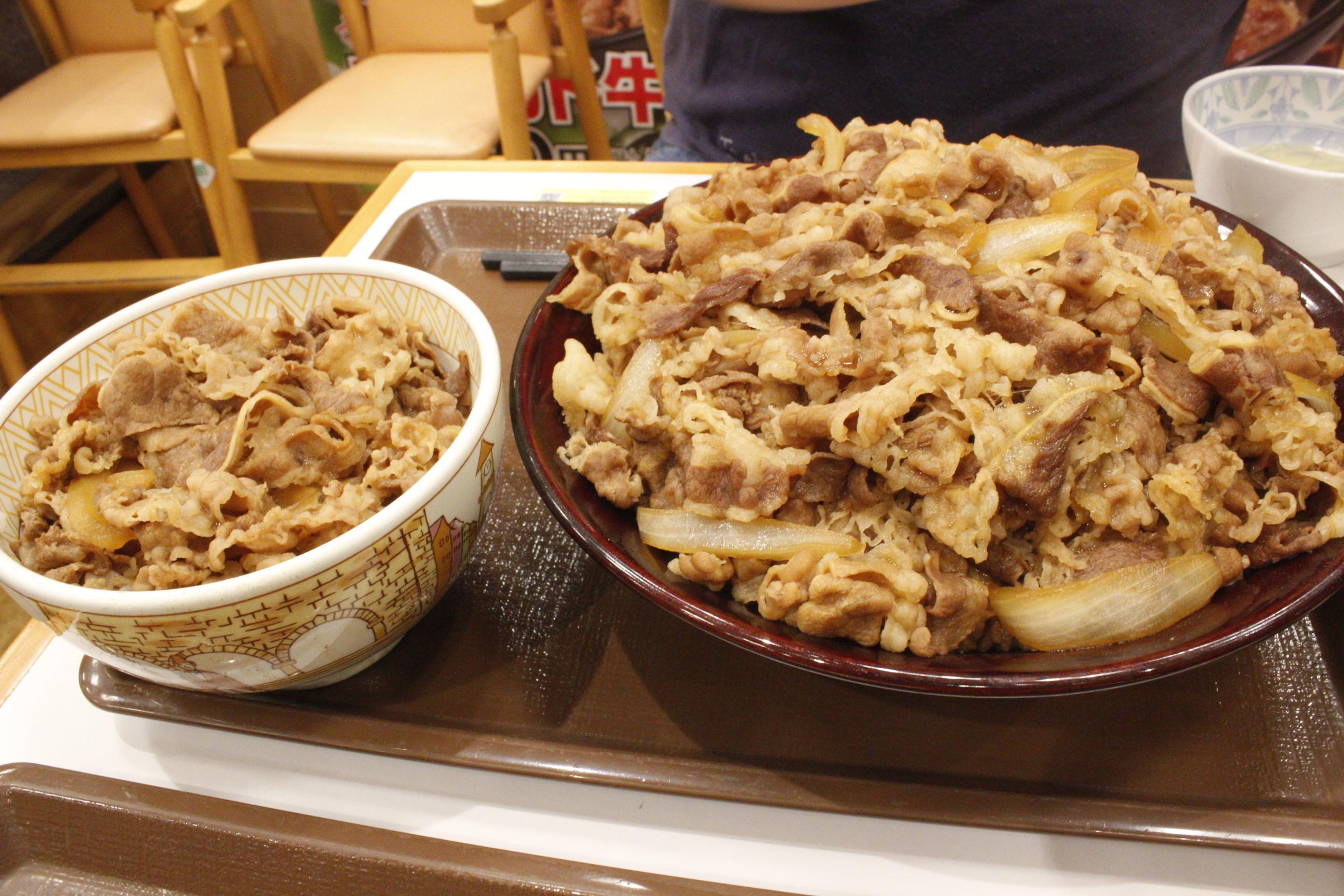 すき家 キング 牛 丼